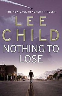 <i>Nothing to Lose</i> (novel)