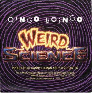 Weird Science (song) - Image: Oingo Boingo Weird Science Single
