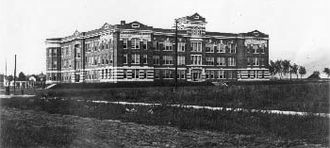 University of Wisconsin–La Crosse - Main Hall, now known as Maurice O. Graff Main Hall, is the original campus building.