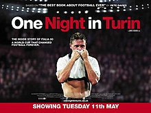 One Night in Turin theatrical release poster.jpg