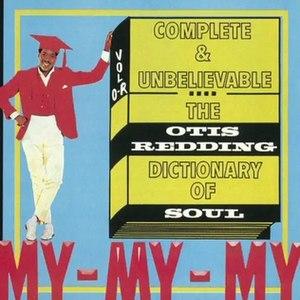 Complete & Unbelievable: The Otis Redding Dictionary of Soul - Image: Otisreddingdictionar y
