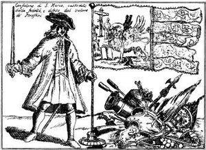 Venetian Albania - Standard-bearer of Perast (1634).