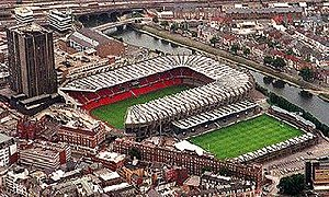 1991 Rugby World Cup - Image: Photo of the original Cardiff Arms Park