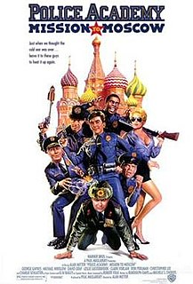 <i>Police Academy: Mission to Moscow</i> 1994 film directed by Alan Metter