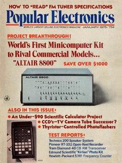 <i>Popular Electronics</i> IT Company