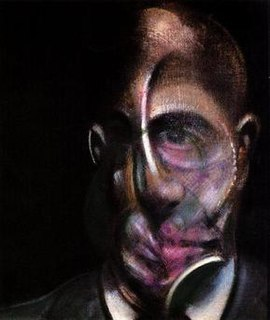 <i>Portrait of Michel Leiris, 1976</i> painting by Francis Bacon