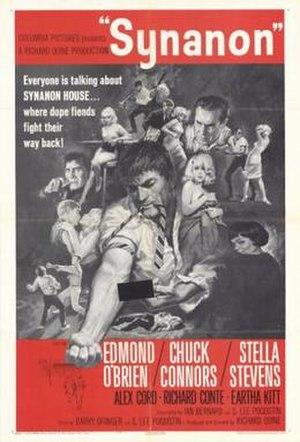 Synanon (film) - Image: Poster of Synanon (film)