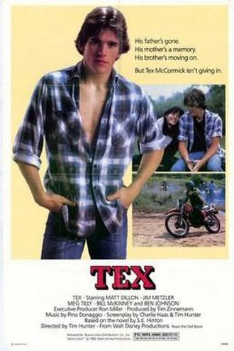 Tex (film) - Image: Poster of Tex (film)