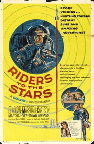 Riders to the Stars - Theatrical release poster