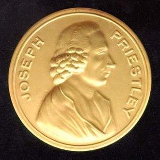 Priestley Medal - Priestley Medal obverse