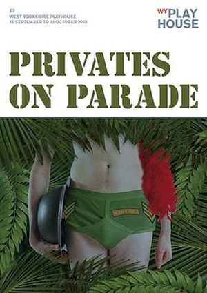 Privates on Parade - West Yorkshire Playhouse production