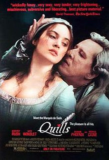 <i>Quills</i> 2000 film by Philip Kaufman