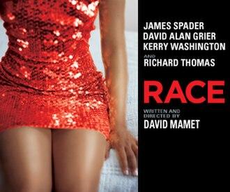 Race (play) - Original Broadway poster