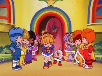 """Rainbow Brite and the Color Kids, in the """"..."""
