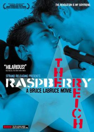 The Raspberry Reich - U.S. release DVD cover art
