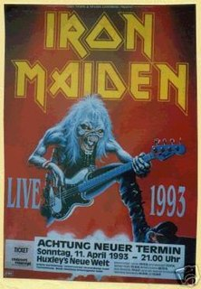 Real Live Tour 1993 concert tour by Iron Maiden