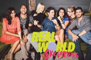 Real World: Skeletons - The cast of Real World: Skeletons (from left to right)