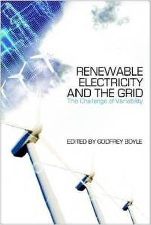 Renewable Electricity and the Grid - Image: Renewable Electricity and the Grid (Godfrey Boyle book) cover