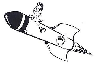 Rocket Girl - Image: Rocket Girl Logo
