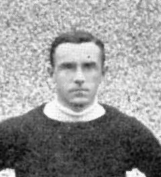 Leigh Richmond Roose - Roose pictured in a Stoke team photograph c.1904. From Association Football and the Men Who Made It (1906).