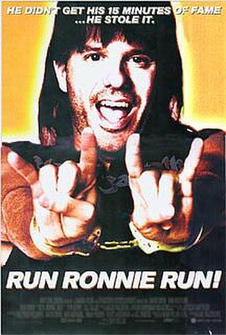 Run Ronnie Run! - Release poster