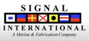 Signal International - Image: Signal International Logo