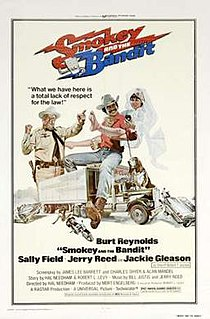 <i>Smokey and the Bandit</i> 1977 film by Hal Needham