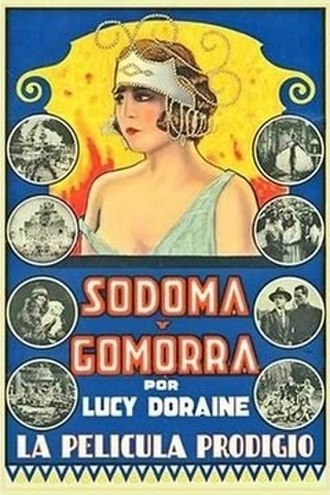 Sodom and Gomorrah (1922 film) - Spanish poster