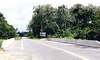 Transport in Guyana - The Soesdyke-Linden Highway tends to serve the mining and forestry sectors.