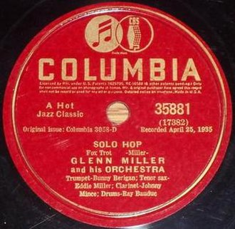 Solo Hop - 1941 Columbia red label re-issue, 35881.