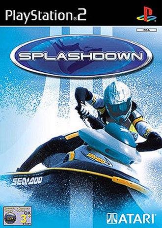 Splashdown (video game) - European PlayStation 2 cover art