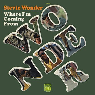 Where I'm Coming From - Image: Stevie Wonder Where Im Coming From