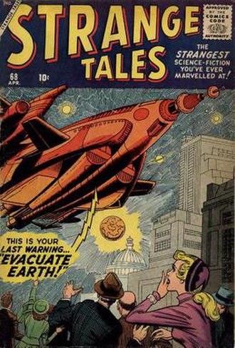 Christopher Rule - Image: Strange Tales 68