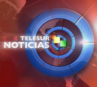 Telesur (TV channel) - The current (July 2012) news ident