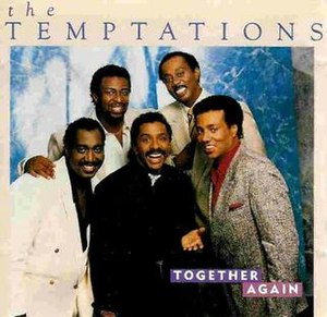 Together Again (The Temptations album) - Image: Tempts Together Again
