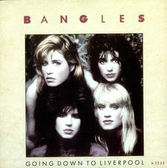 Going Down to Liverpool - Image: The Bangles Going Down To Liverpool 1986