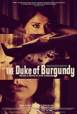 The Duke of Burgundy - British release poster