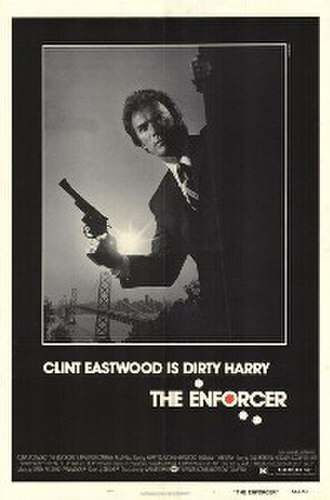 The Enforcer (1976 film) - Theatrical release poster by Bill Gold