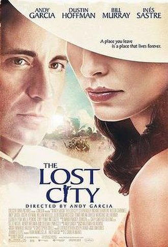 The Lost City (2005 film) - The Lost City film poster