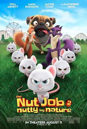 The Nut Job 2: Nutty by Nature - Theatrical release poster