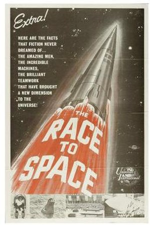 The Race for Space (film) - Film poster