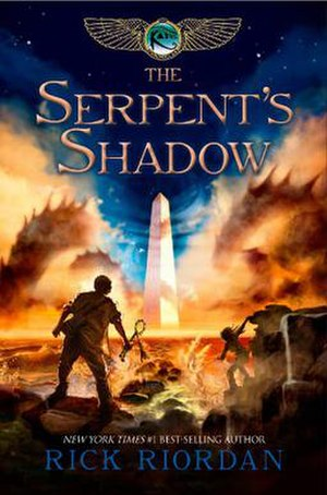 The Serpent's Shadow (Riordan novel) - Cover of first edition
