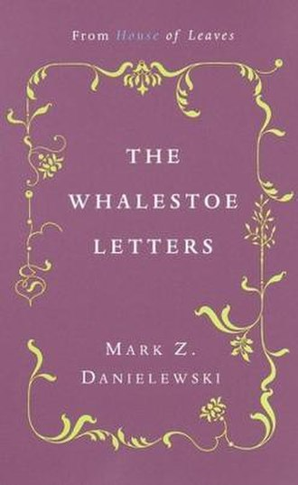 The Whalestoe Letters - Cover to the first edition