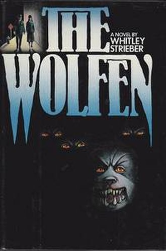 The Wolfen - Artwork for the hardcover first edition