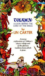 """<i>Tolkien: A Look Behind """"The Lord of the Rings""""</i> book by Lin Carter"""