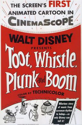 Toot, Whistle, Plunk and Boom - Poster for Toot, Whistle, Plunk and Boom