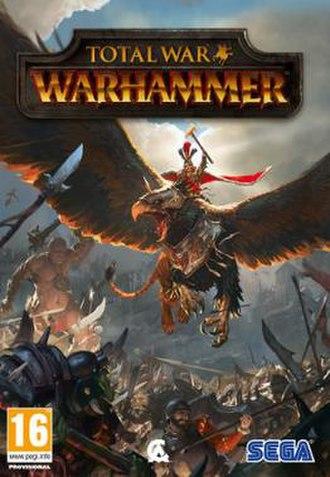 Total War: Warhammer - Image: Total War Warhammer cover art