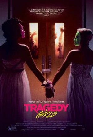 Tragedy Girls - Theatrical release poster