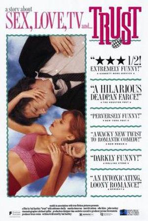 Trust (1990 film) - Image: Trust film poster