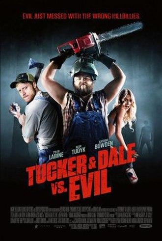 Tucker & Dale vs. Evil - Theatrical release poster